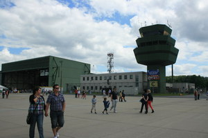 Tower der NATO Airbase Geilenkirchen MGRS 32UKB9249