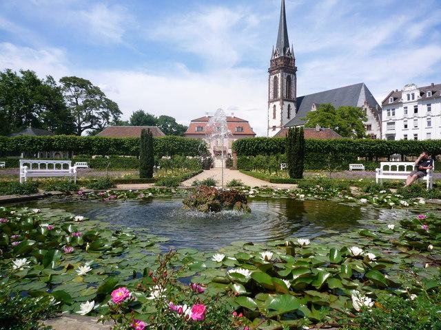 Prinz Georg Garten Brunnen Prinz Georg Garten Fountain MGRS