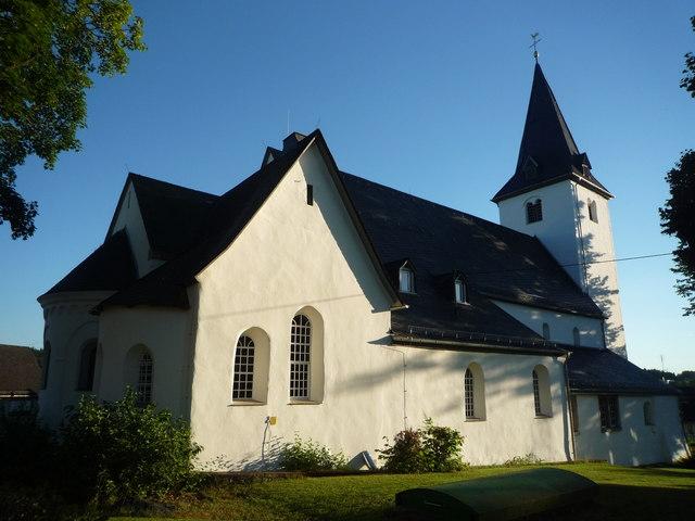 Evangelische Kirche in HachenburgAltstadt MGRS