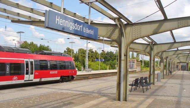 Bahnhof Hennigsdorf b Berlin Hennigsdorf Railway