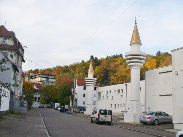 Schwbisch Gmnd  Moschee Mosque MGRS 32UNV5806