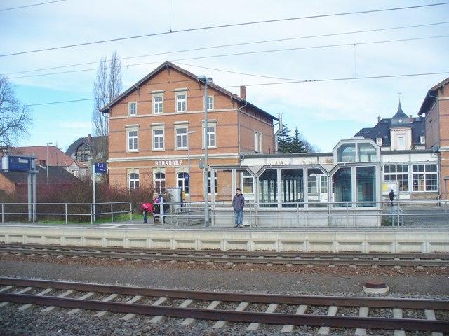Borsdorf  Bahnhof Railway Station MGRS 33UUS2891