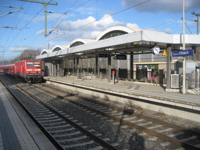 Bahnhof Nrnberg Eibach MGRS 32UPV4875  Geograph Deutschland