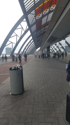 North side of Amsterdam Centraal (lakefront).
