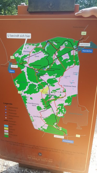 Park Map of De Hoge Veluwe