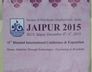 GEObit in India Jaipur, SPG 2015