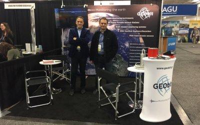 GEObit at AGU Fall Meeting 2016, San Francisco, CA