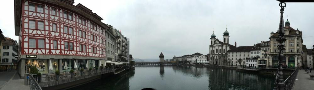 Wasserturm Luzern avec