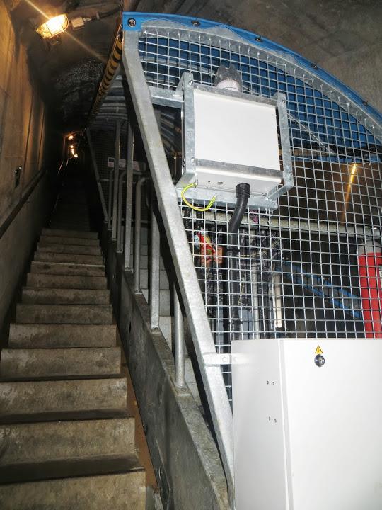 schrägaufzug tunnel