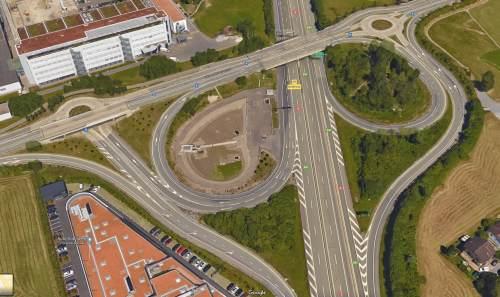 Autobahnausfahrt Rotkreuz