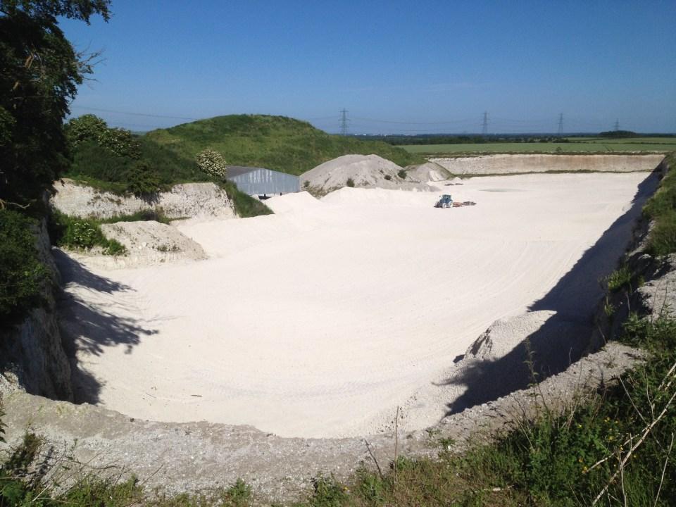 Chalk Quarry