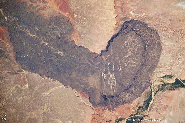 Black Point Lava Flow, Arizona --- 9/7/2009 --- http://earthobservatory.nasa.gov/IOTD/view.php?id=40076