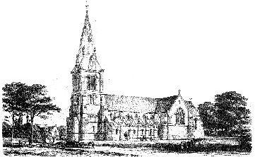 The Church of St John of Jerusalem, South Hackney, London