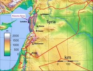 Alawite Map