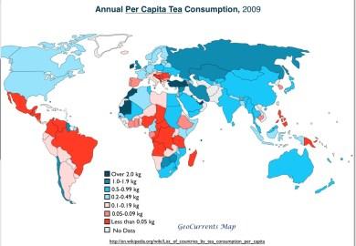 Tea Consumption Worldwide