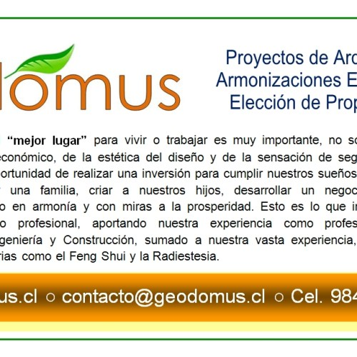 Servicios Profesionales Geodomus