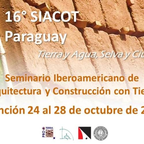 16° SIACOT – FADA/UNA – Paraguay 2016
