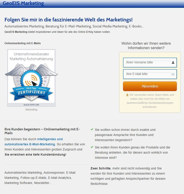 onlinemarketing-mit-e-mails