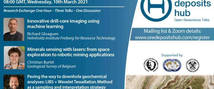 Did you know about the Open Geoscience Talks on new technologies applied to mineral exploration?