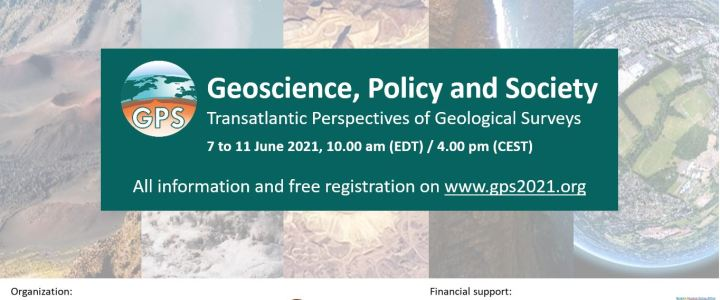 Did you know about the free Geoscience, Policy and Society event happening online from 7 June?