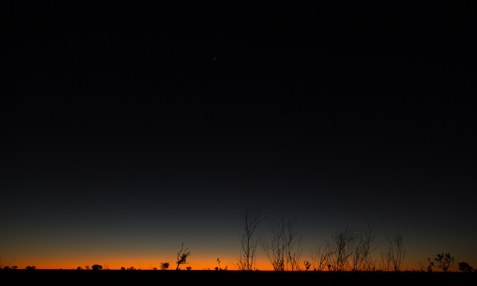 Venus at Wolfe Creek