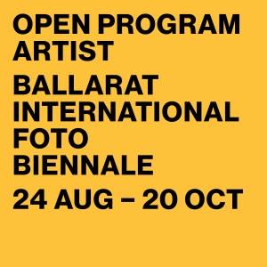 Ballarat Foto Biennale Artist Logo