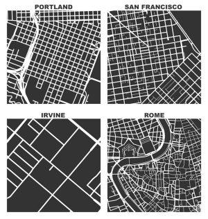 SquareMile Street Network Visualization  Geoff Boeing
