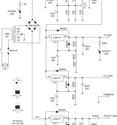 utility power supply v1 0 schematic download [ 4464 x 6489 Pixel ]