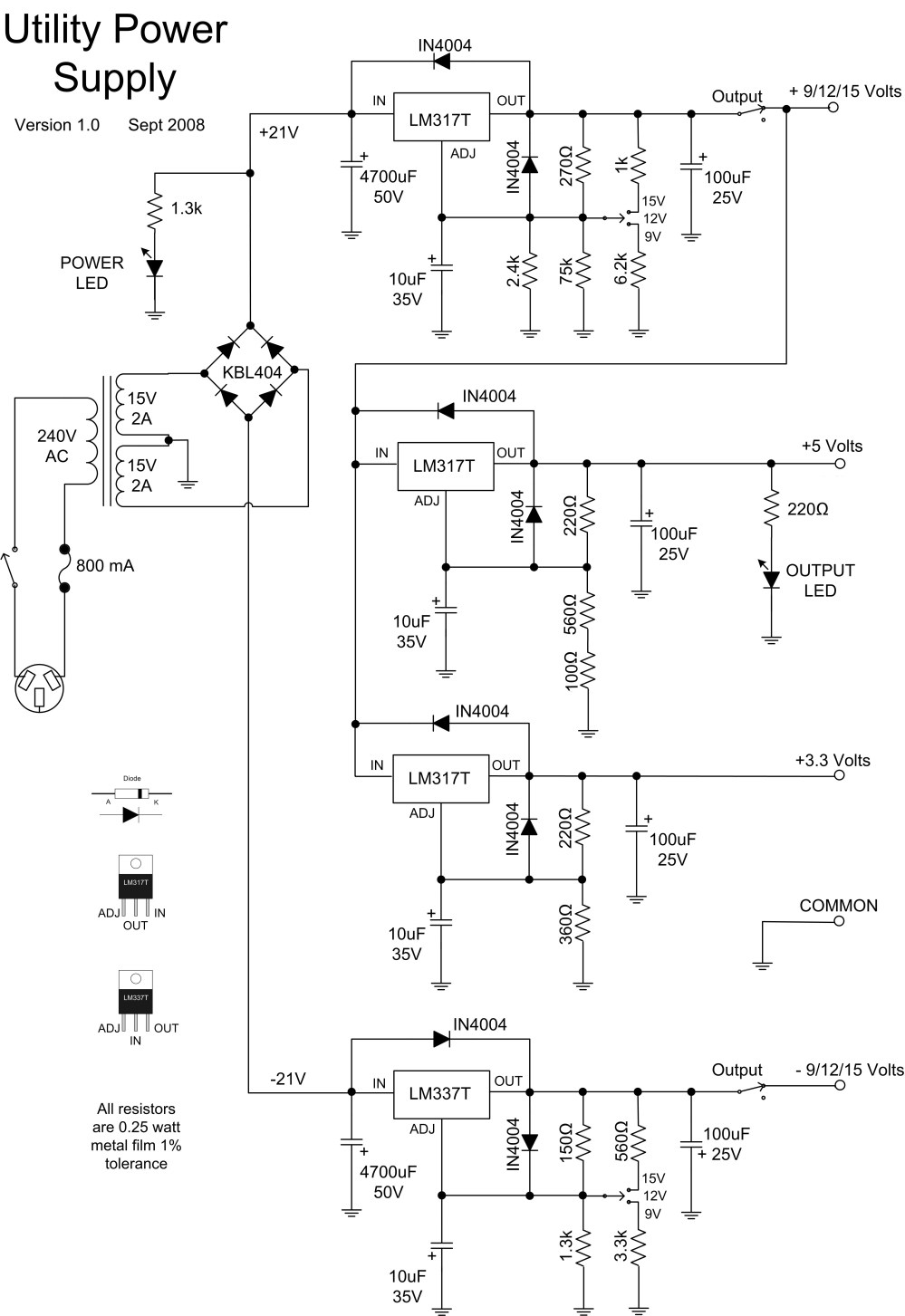 medium resolution of utility power supply v1 0 schematic download