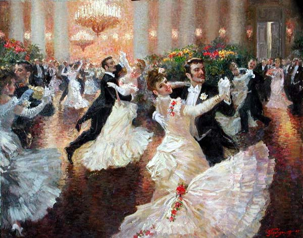 Image result for victorian balls 2017 paintings