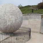 Durlston stone globe