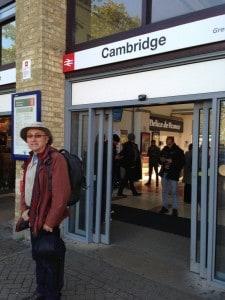 Geoff leaving Cambridge