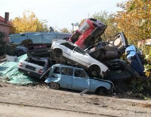 Pile 'em high sell 'em cheap - An old Tesco carpark