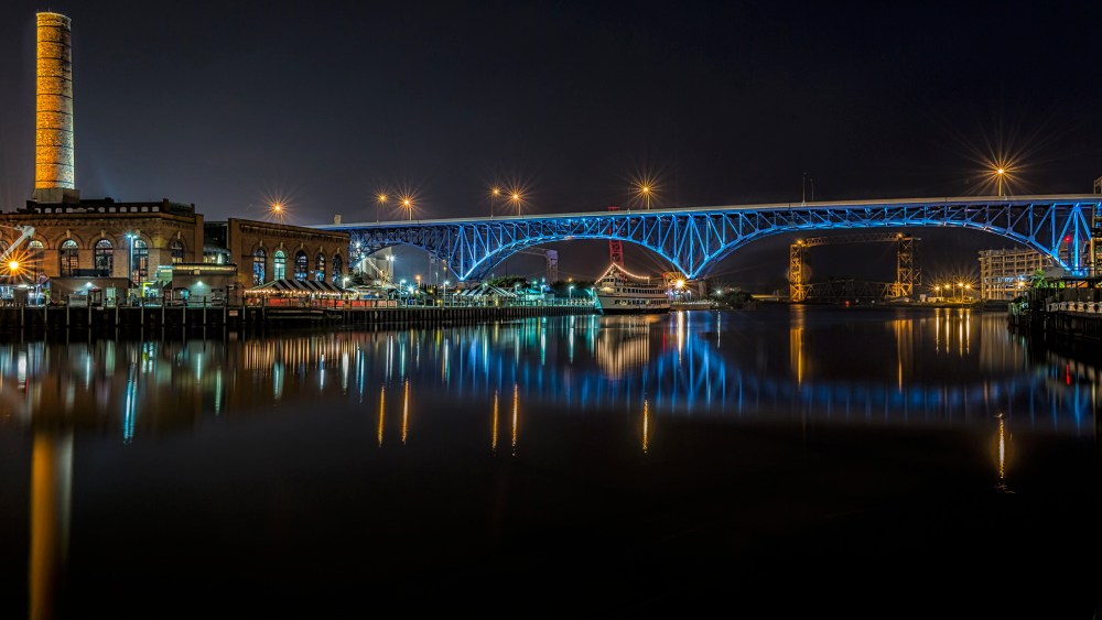 Bridge Over the River Cuyahoga for Google+