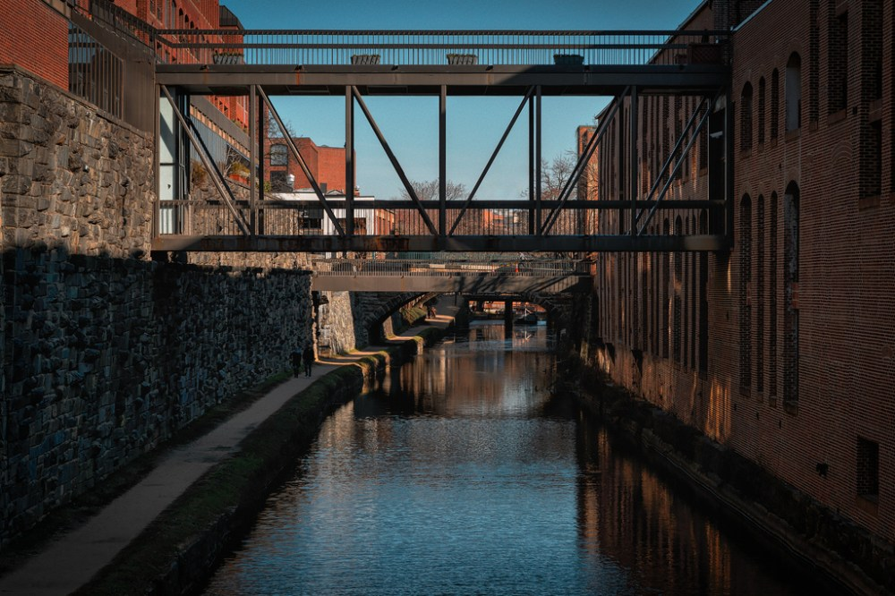 The C&O Canal in Georgetown.