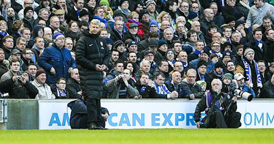 Arsene Wenger getting in the way!