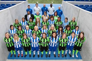 The Brighton %26 Hove Albion Women's Team