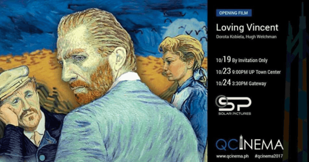 qcinema 2017 schedule loving vincent