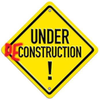 Site under deconstruction