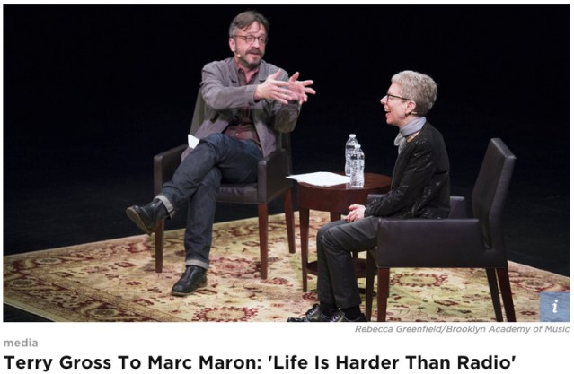 MarcMaron and Terry Gross
