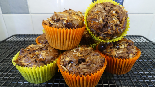 Coconut & Chocolate Muffins