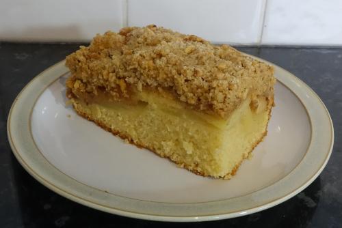 Apple Crumble Cake - Bars