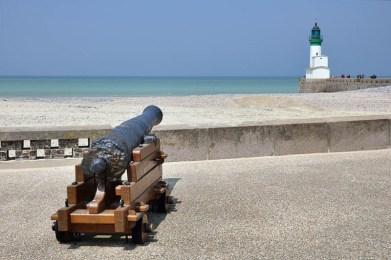 Le Treport cannon