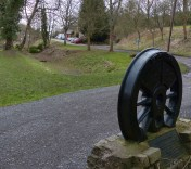 Wheel and old canal