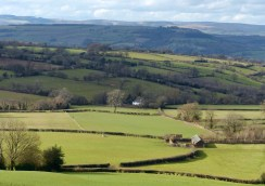 A view to the Mynd