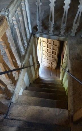 Gatehouse staircase