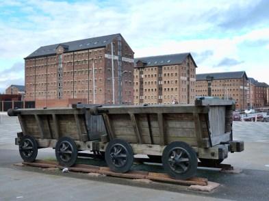 Plateway wagons