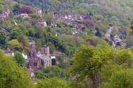 Looking down on Ironbridge