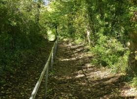 Wagonway incline...