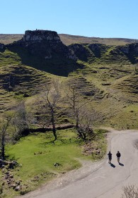 More visitors to the Fairy Glen